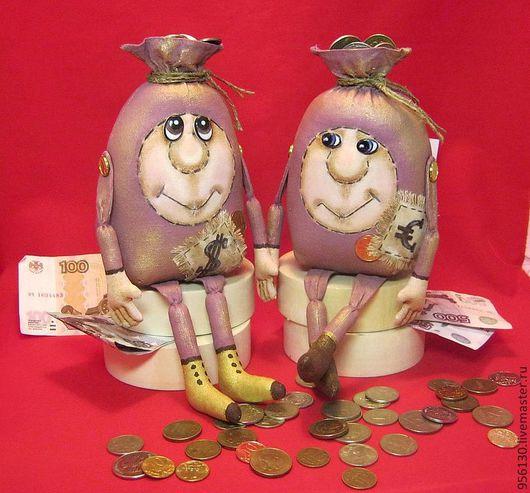 Ароматизированные куклы ручной работы. Ярмарка Мастеров - ручная работа. Купить денежный мешок. Handmade. Брусничный, сувениры ручной работы