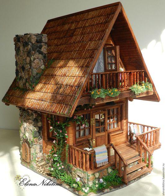 Кукольный дом ручной работы. Ярмарка Мастеров - ручная работа. Купить Дом, где живёт мечта.... Handmade. Кукольный дом