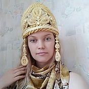 Русский стиль handmade. Livemaster - original item Kokoshnik