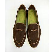 Обувь ручной работы. Ярмарка Мастеров - ручная работа Бельгийские лоферы. Handmade.