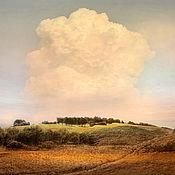 """Картины и панно ручной работы. Ярмарка Мастеров - ручная работа Фото картина природа облако Пейзаж для интерьера """"Под самым облаком"""". Handmade."""