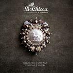 BoChicca ✤ авторские броши - Ярмарка Мастеров - ручная работа, handmade