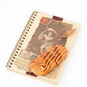 """Канцелярские товары ручной работы. Ярмарка Мастеров - ручная работа Блокнот """"Детки-конфетки"""". Handmade."""