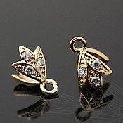 Материалы для творчества handmade. Livemaster - original item Bale clamping art. 4-11A for pendants and pendants Yu. Korea. Handmade.