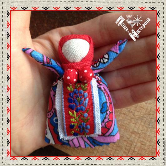 Народные куклы ручной работы. Ярмарка Мастеров - ручная работа. Купить Оберег Радостея принесет добрые вести в Ваш дом. Handmade.