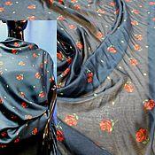 Материалы для творчества handmade. Livemaster - original item Fabric: SILK BLOUSE WITH VISCOSE-ITALY. Handmade.