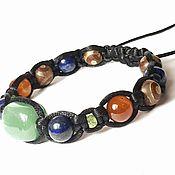 Украшения handmade. Livemaster - original item Bracelet natural stone. Chrysolite stone. Bracelet with aventurine. Handmade.