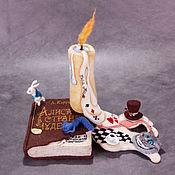 """Куклы и игрушки ручной работы. Ярмарка Мастеров - ручная работа Сны Алисы (по мотивам сказки """"Алиса в стране чудес""""). Handmade."""