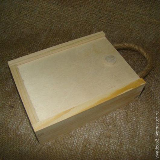 Заготовка из сосны. Пенал с веревкой 17х13х5 арт 032.1                            365руб   3/0