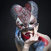 """Для дома и интерьера ручной работы. Ярмарка Мастеров - ручная работа Декоративная маска """"Воинственная"""". Handmade."""