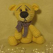 Куклы и игрушки ручной работы. Ярмарка Мастеров - ручная работа мишка Беж. Handmade.