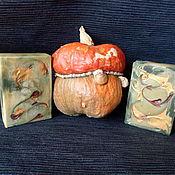 Косметика ручной работы handmade. Livemaster - original item silk souffle Sandalwood and Pumpkin. Handmade.
