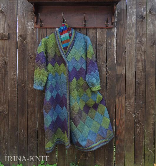 пальто купить вязаное энтерлалк кауни