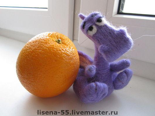 Animal Toys handmade. Livemaster - handmade. Buy Dragon.Dragon, felted toy, new year of the dragon 2012