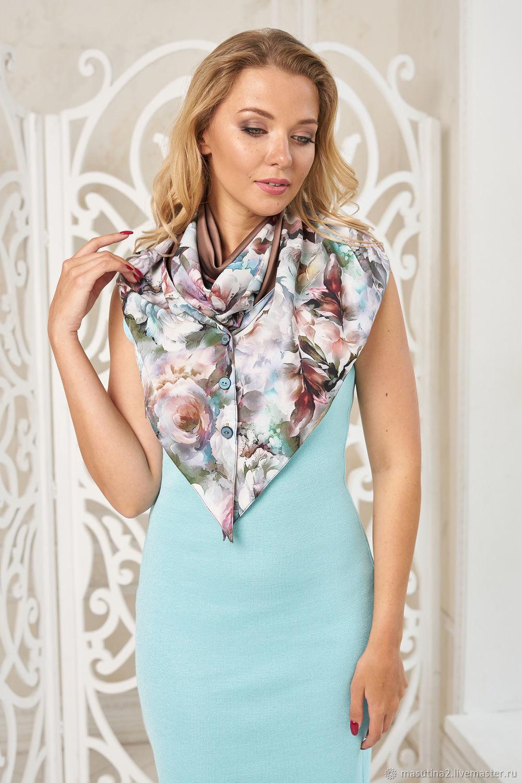 Handkerchief ' Joanna', Shawls1, St. Petersburg,  Фото №1