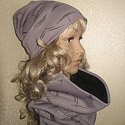 Аксессуары ручной работы. Ярмарка Мастеров - ручная работа комплект шапка +снуд. Handmade.
