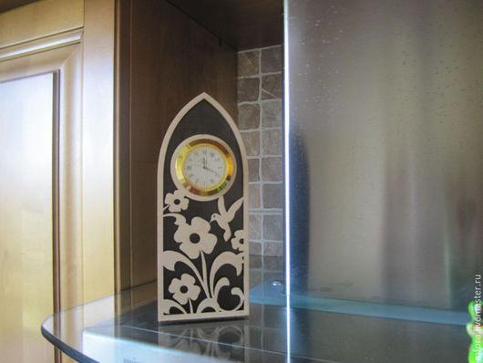 Часы для дома ручной работы. Ярмарка Мастеров - ручная работа. Купить часы настольные и каминные. Handmade. Коричневый, каминные часы