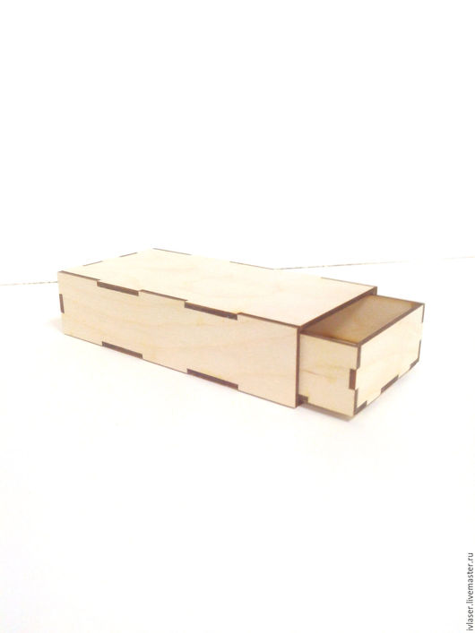 IVL-222-3 Шкатулка пенал шкатулка заготовка для декупажа и росписи