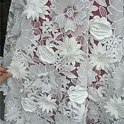 Материалы для творчества handmade. Livemaster - original item White 3 D lace, Blanca. Handmade.