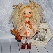 Куклы и пупсы ручной работы. Ярмарка Мастеров - ручная работа Текстильная кукла Катюша. Handmade.