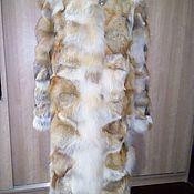 Одежда ручной работы. Ярмарка Мастеров - ручная работа Шуба из лоскута лисы. Handmade.