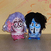 Куклы и игрушки ручной работы. Ярмарка Мастеров - ручная работа Чундра и Чучундра. Handmade.