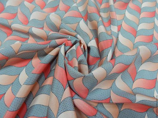 Шитье ручной работы. Ярмарка Мастеров - ручная работа. Купить -10% Натуральный шелк(2), Италия. Handmade. Комбинированный, шелковое платье