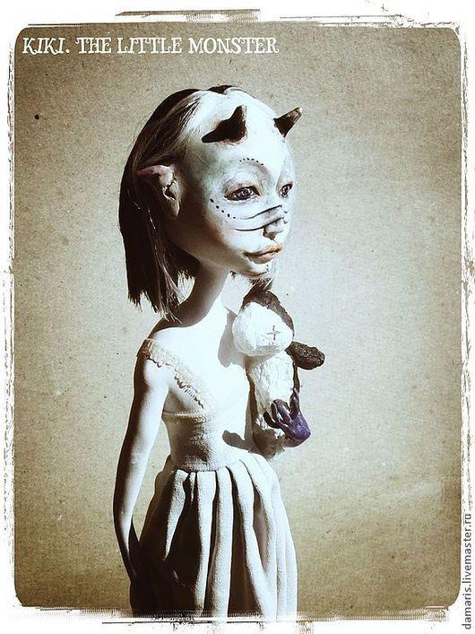 Коллекционные куклы ручной работы. Ярмарка Мастеров - ручная работа. Купить Кики. Маленькое чудовище (продана). Handmade. Колленционная кукла