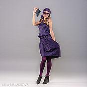 Одежда ручной работы. Ярмарка Мастеров - ручная работа Валяный костюм  Violet. Handmade.