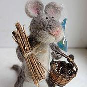 Куклы и игрушки ручной работы. Ярмарка Мастеров - ручная работа Мышонок Тимка. Handmade.
