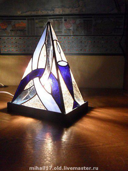 """Освещение ручной работы. Ярмарка Мастеров - ручная работа. Купить светильник """"Начало"""". Handmade. Светильник, витражный светильник, настольный светильник"""