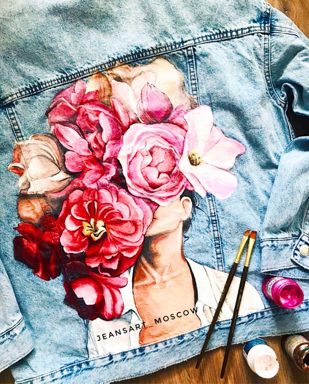 джинсовые картинки с цветами образом узнал таких