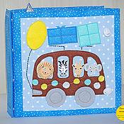 Куклы и игрушки handmade. Livemaster - original item Toys: Educational book transport. Handmade.