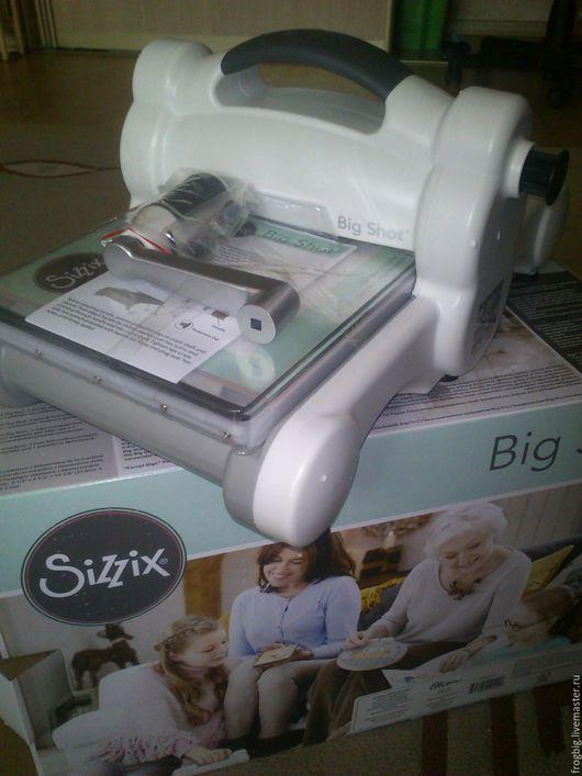 Другие виды рукоделия ручной работы. Ярмарка Мастеров - ручная работа. Купить SIZZIX Big Shot 660200 машинка для вырубки. Handmade.