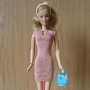 Куклы и игрушки ручной работы. Ярмарка Мастеров - ручная работа Короткое платье с рукавом реглан. Handmade.