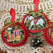 Подарки к праздникам handmade. Livemaster - original item A set of felt toys
