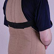 Одежда ручной работы. Ярмарка Мастеров - ручная работа Корсет из собачьего пуха. Handmade.