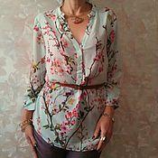 """Одежда ручной работы. Ярмарка Мастеров - ручная работа блузка """"Тиффани"""". Handmade."""
