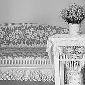 Русский стиль ручной работы. Ярмарка Мастеров - ручная работа Ажурный подзор филейное кружево. Handmade.