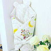 Комплекты одежды ручной работы. Ярмарка Мастеров - ручная работа Конверт на выписку. Handmade.