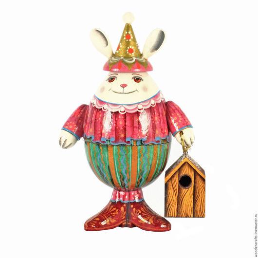 Подарки на Пасху ручной работы. Ярмарка Мастеров - ручная работа. Купить Пасхальный заяц - шкатулка. Handmade. Комбинированный, заяц, шкатулка