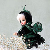 Куклы и игрушки handmade. Livemaster - original item Doll night Teddy doll. Handmade.