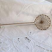 Винтаж ручной работы. Ярмарка Мастеров - ручная работа Старинная ложечка для вынимания яиц. Handmade.