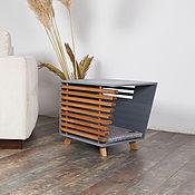 Зоотовары handmade. Livemaster - original item Cabinet-house Future Wood Gray. Handmade.