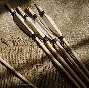 Другое бутафорское оружие ручной работы. Ярмарка Мастеров - ручная работа Стрела синтетика без наконечника. Handmade.