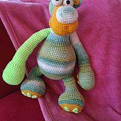Мягкие игрушки ручной работы. Ярмарка Мастеров - ручная работа Мишка, вязаная игрушка. Handmade.