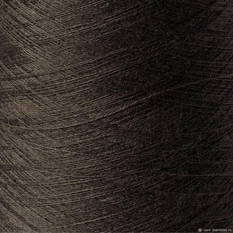 Пряжа Кашемир шёлк Jaipur коричневый, Пряжа, Санкт-Петербург,  Фото №1