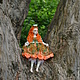 Коллекционные куклы ручной работы. авторская будуарная кукла Елизавета. Екатерина Николенко. Ярмарка Мастеров. Авторская кукла, куклы в подарок