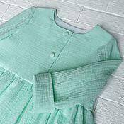 Платья ручной работы. Ярмарка Мастеров - ручная работа Платье из муслина детское. Handmade.