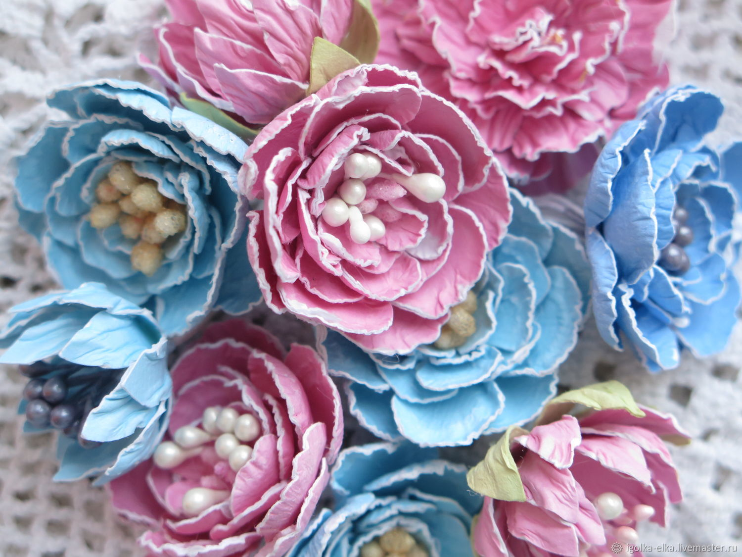 Handmade Flowers From Paper Shop Online On Livemaster With
